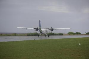 Layang Layang landing strip