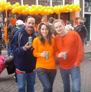 Queen's day with my guy and my dad