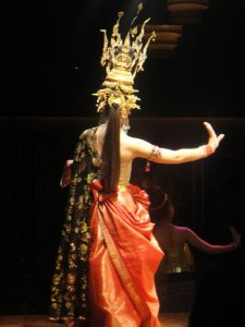 Traditonal Thai dancer