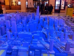 Micro model of Chicago-scape