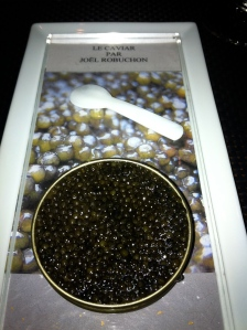 Caviar at Joel Robuchon