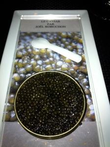 Caviar at Joel Robuchon