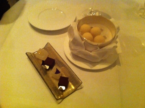 Especially these frozen truffles to conclude!