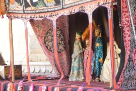Marionette show at City Palace