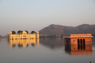 Water Palace at sunset