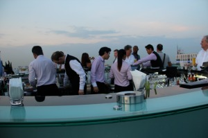 The bar at Sky bar Bangkok