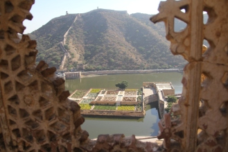 gardens at amber fort