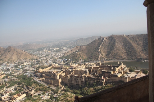 view from Jaigarh fort