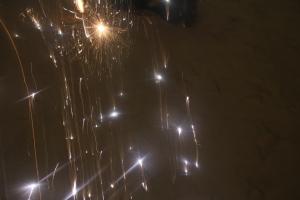 NYE Firework on Curly's Beach