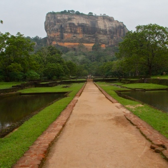 The journey begins at Sigiriya, Sri Lanka