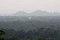 Buddha in the distance at Sigiriya, Sri Lanka