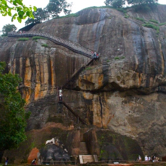 Lion's Gate at Sigiriya, Sri Lanka