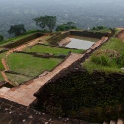 Top of Sigiriya, Sri Lanka