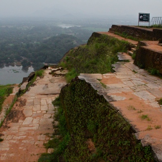 Top of Sigiriya, Sri Lanka