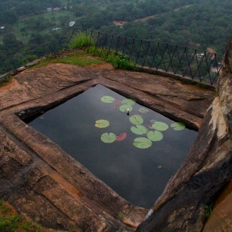 Pond at Sigiriya, Sri Lanka