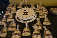 Chanel Cake and cookies