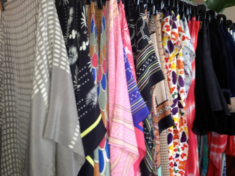 Scarves at Sarca Chicago