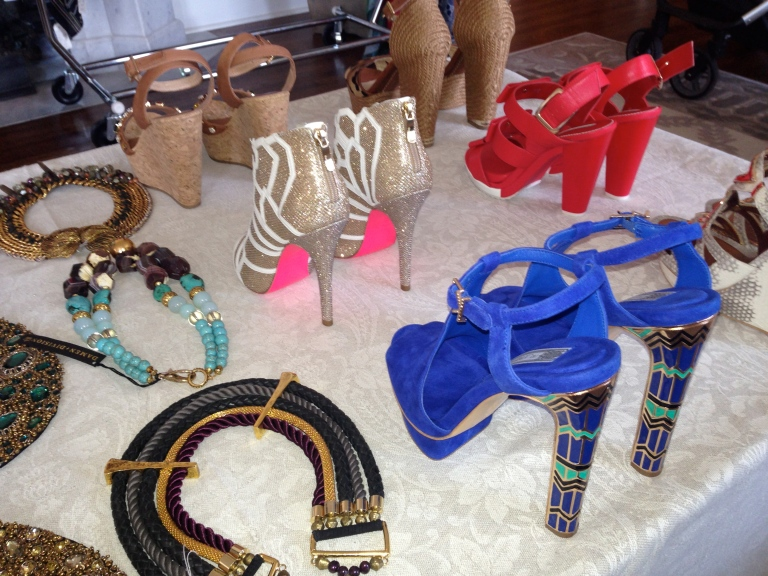 Sarca Chicago shoes and jewels