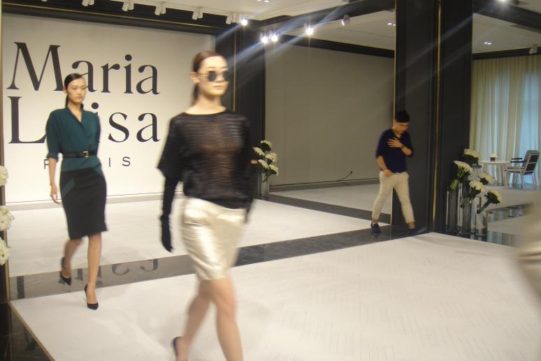 Maria Luisa fashion rehearsal