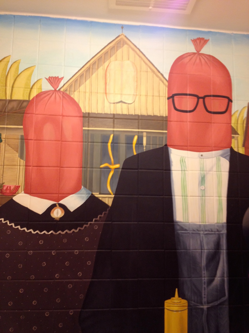 American Gothic goes to Chicago