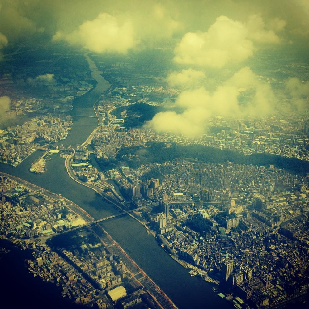 Shenzhen from above